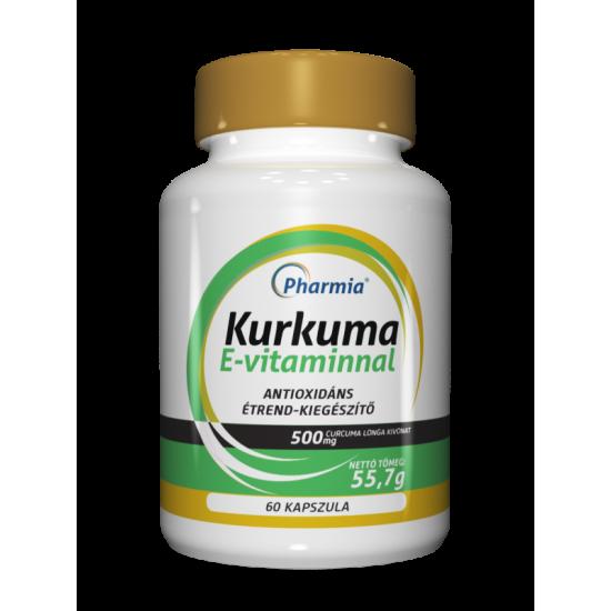 Kurkuma E-vitaminnal