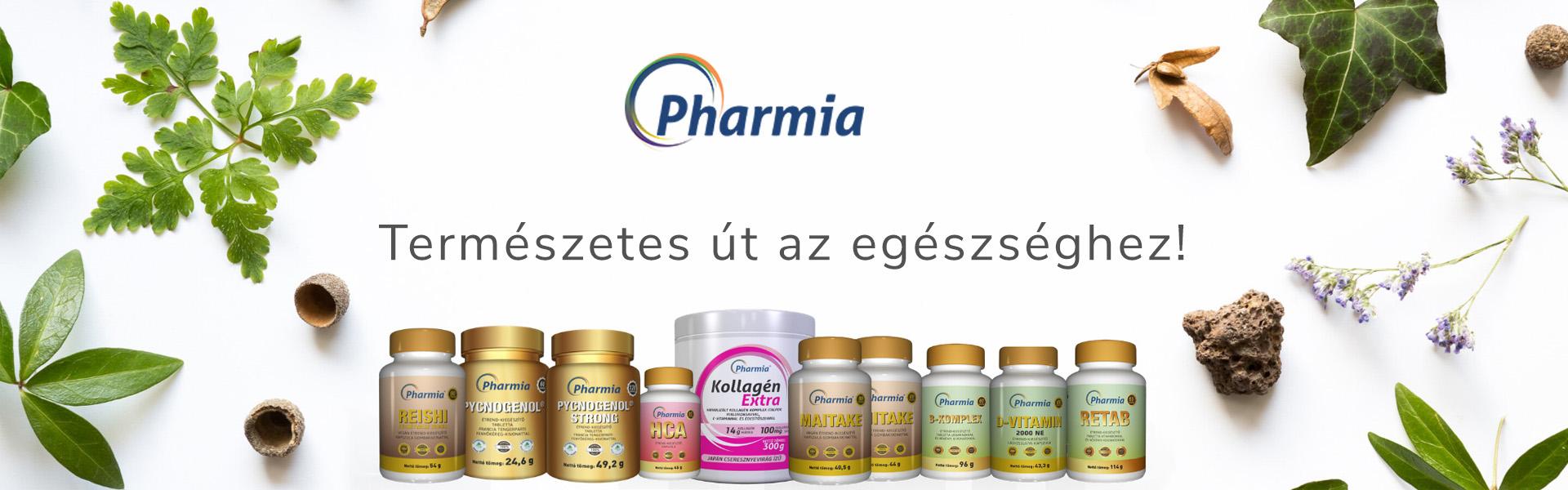 Pharmia - természetes út az egészséghez