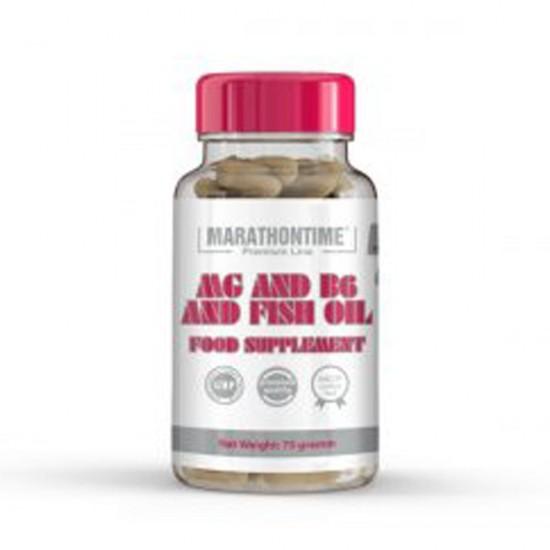 Magnézim B6 vitamin Halolaj