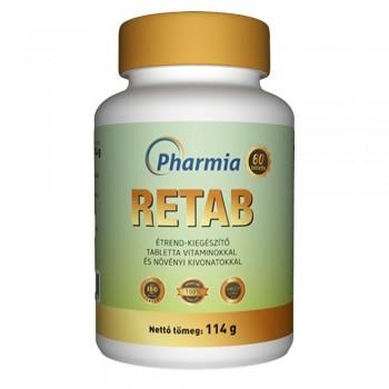 Retab 14 féle vitamin, ásványi anyag és növényi kivonat kombinációja